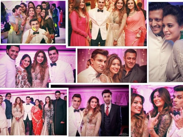 Bipasha and Karan's wedding