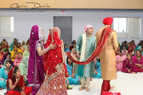 Meaning of the 4 Pheras in a Sikh Wedding Ceremony – WedAbout