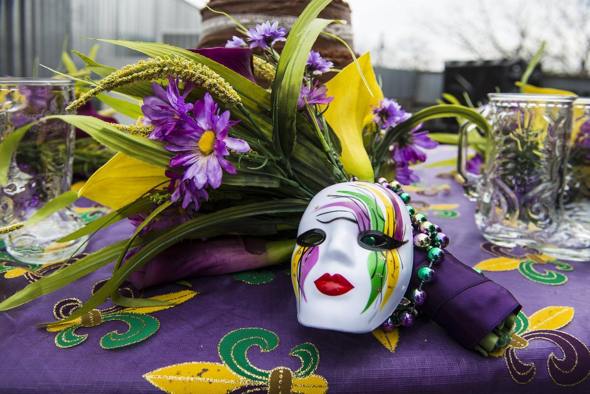 Mardi Gras Wedding Flowers Flowers Healthy