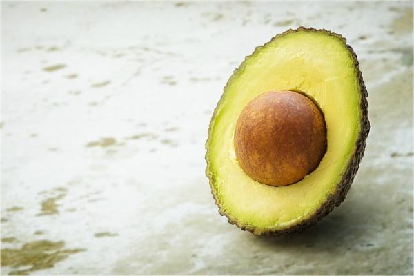 DIY home made hair care mask avocado