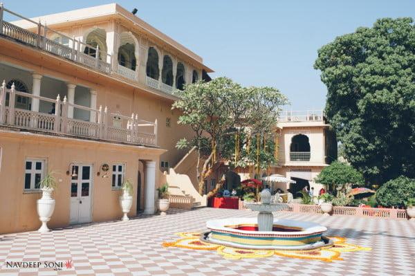 Destination Wedding Chomu Palace Jaipur-
