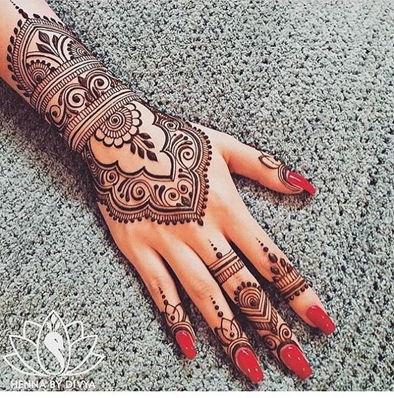 Top 10 Mehendi Design For Your Wedding Wedabout Wedabout