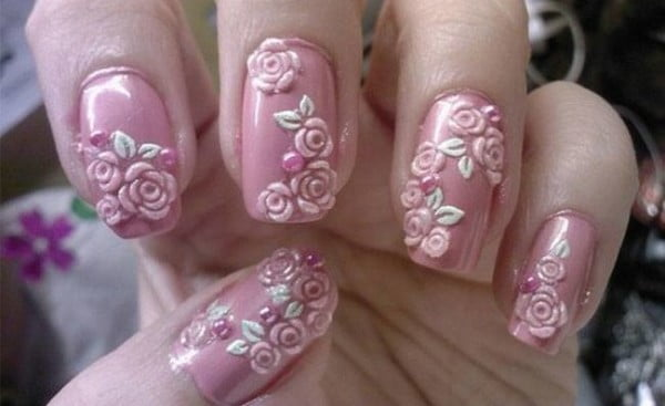 7-Flower-Nail-Art-Designs-for-Your-Inspiration