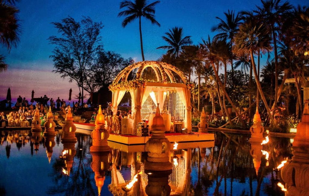 Top destination wedding venues out of india wedabout indian wedding in phuket junglespirit Gallery