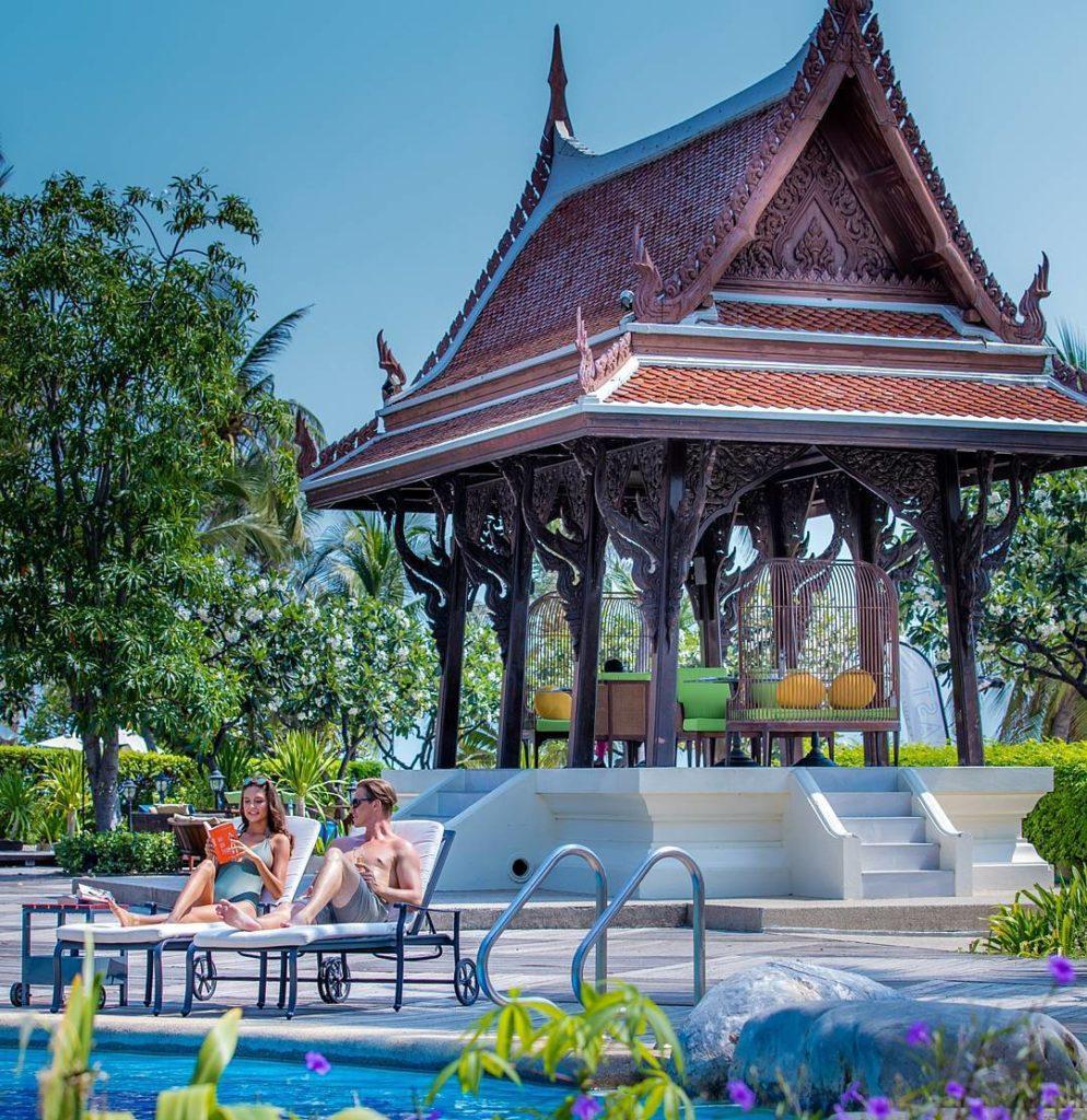 Centara Grand beach resorts and villas Hua Hin, Centara beach resort Hua Hin