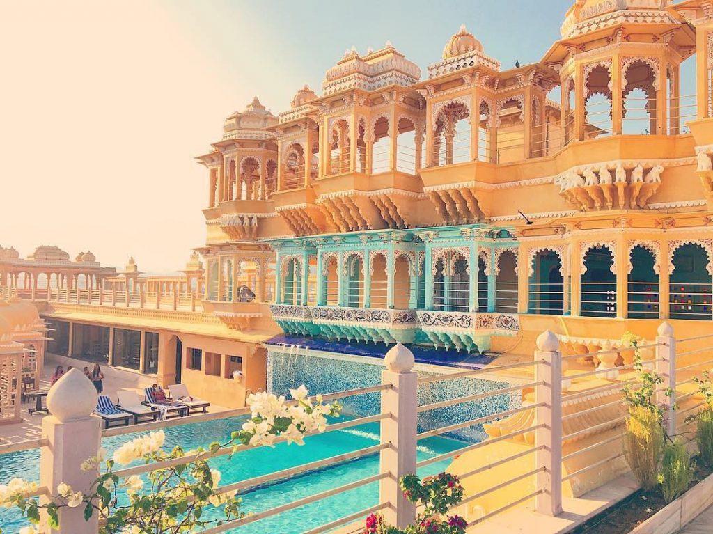 Chunda Palace hotel for detination wedding in Udaipur