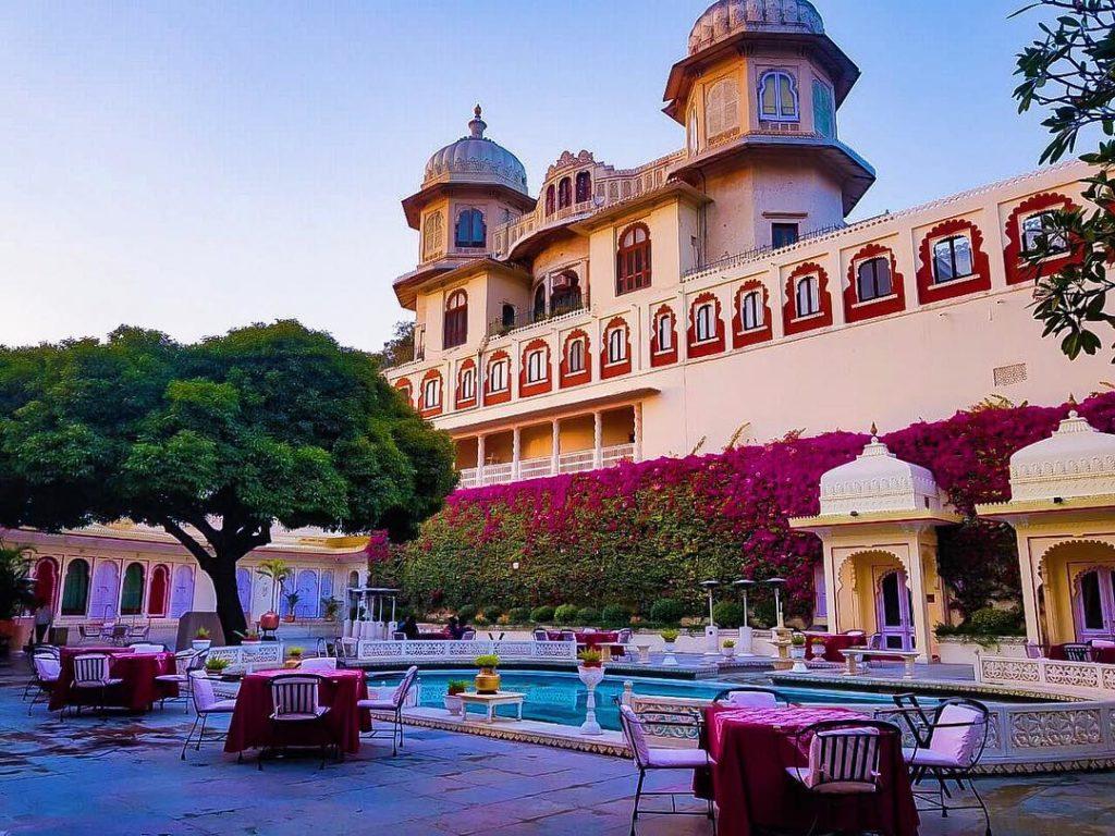 Shiv Niwas Palace for destination wedding in Udaipur