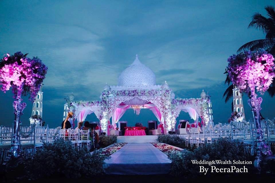 hua hin wedding decor