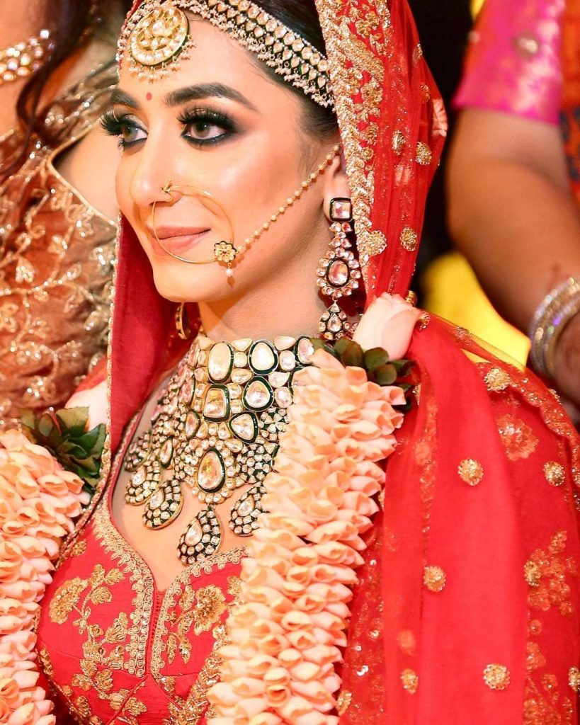 sabyasachi bridal look