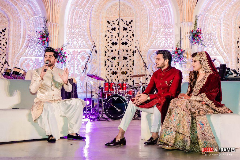 Umrao night in Emirates palace at Abu Dhabi wedding