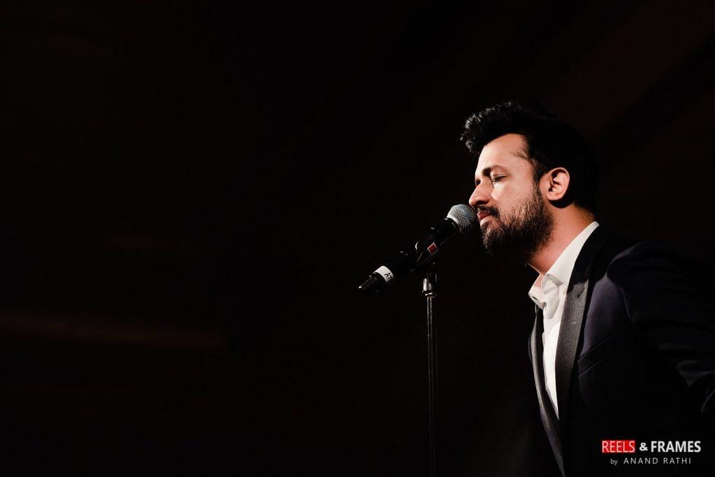 Live performance by Atif Aslam in Abu Dhabi wedding