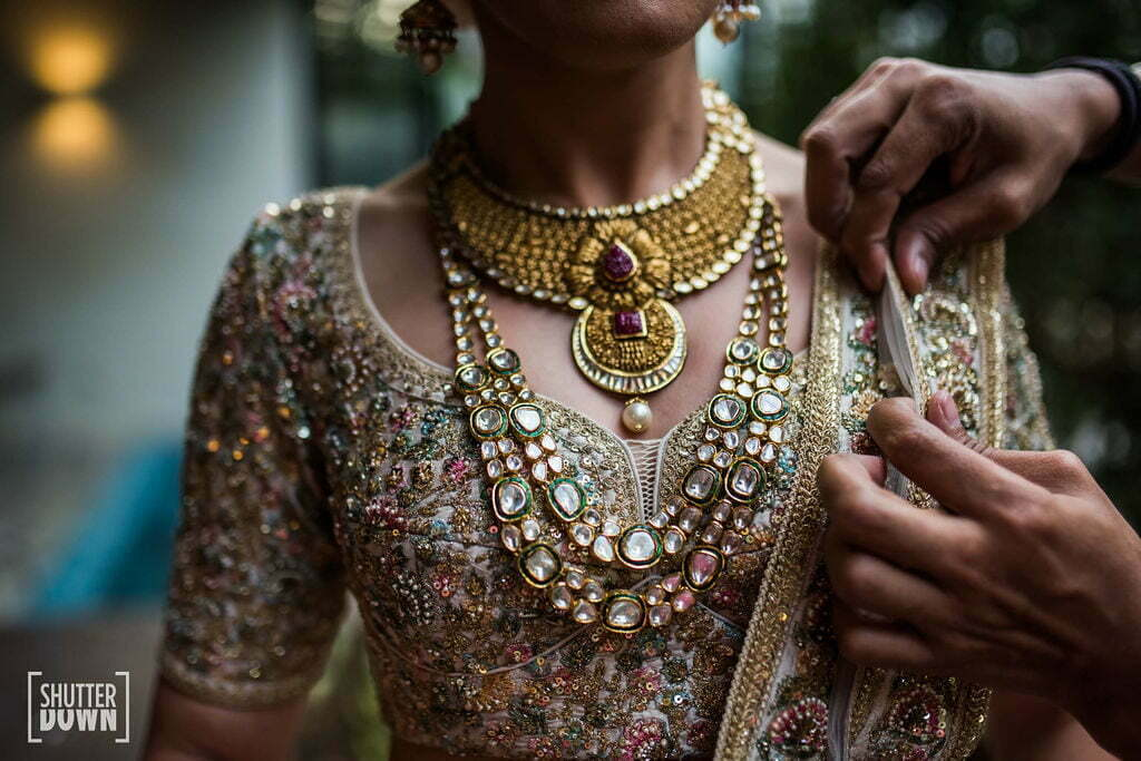 Sabyasachi outfits for the bride at a bali wedding
