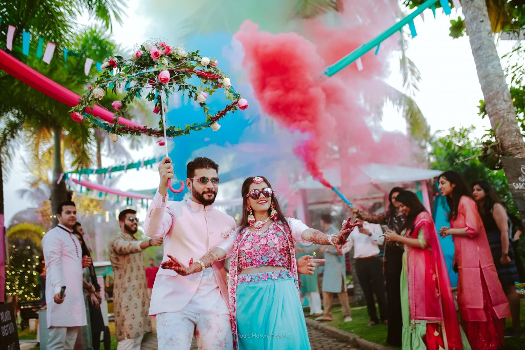 Subarnadevendran outfits for the bride at wedding in kerala