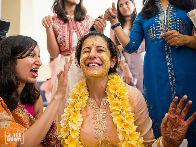 haldi-ceremony-bride-candid-bridal-photography-candid-picture-of-the-bride-at-her-haldi-ceremony